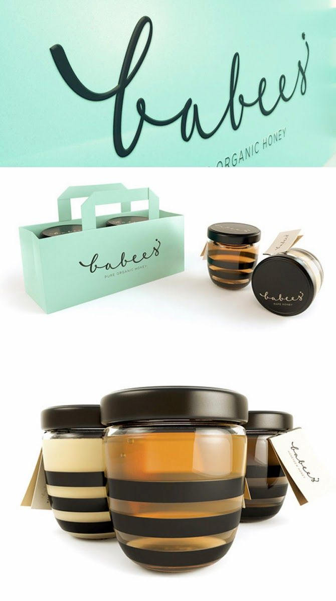 Simply Creative: Creative Honey Packaging Designs
