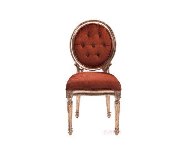 Louis Krzesło Czerwone Miedź - 1