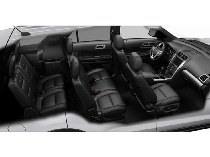 2014 Ford Explorer Cabin