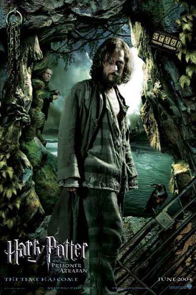 Sirius Black....Harry Potter And The Prisoner Of Azkaban
