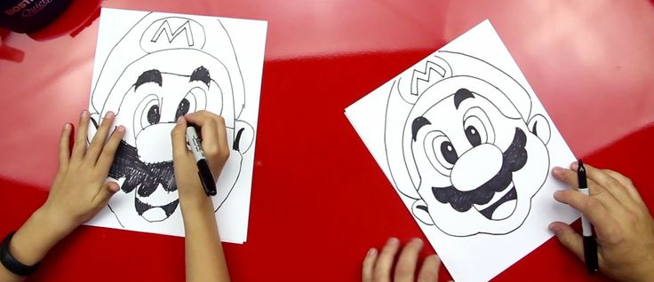 How To Draw Mario » Art for Kids!