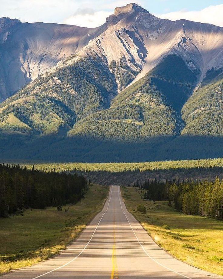 . Photo by @_miss.mandy_ The David Thompson Highway is a bit of a hidden gem amongst the Rockies in Alberta. #landscapes #nature #place #roadtrip #canada #alberta #explore #adventure #trees #travel #road
