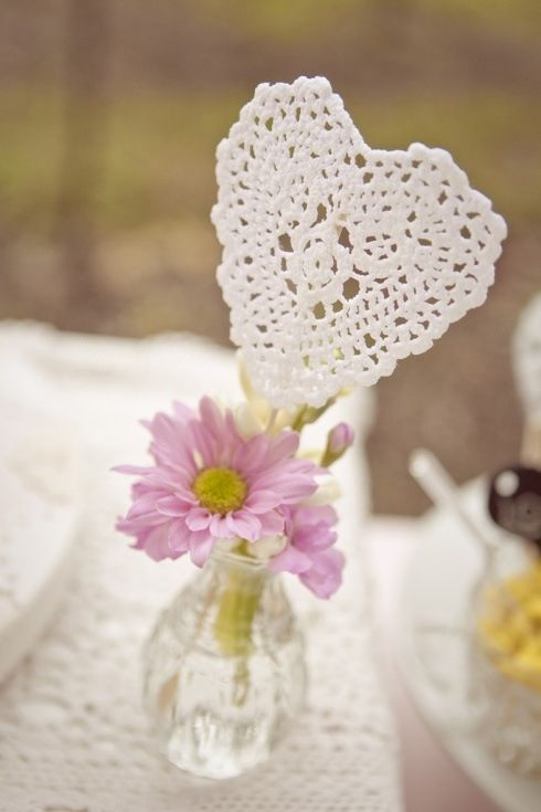 Doily heart♪ ♪ ... #inspiration_crochet #diy GB