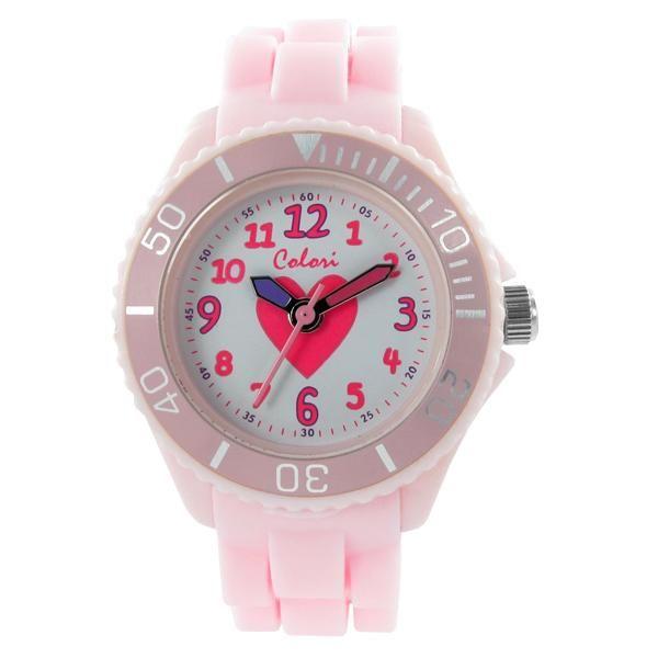 Ρολόι COLORI Kidz Collection Pink Silicone Strap