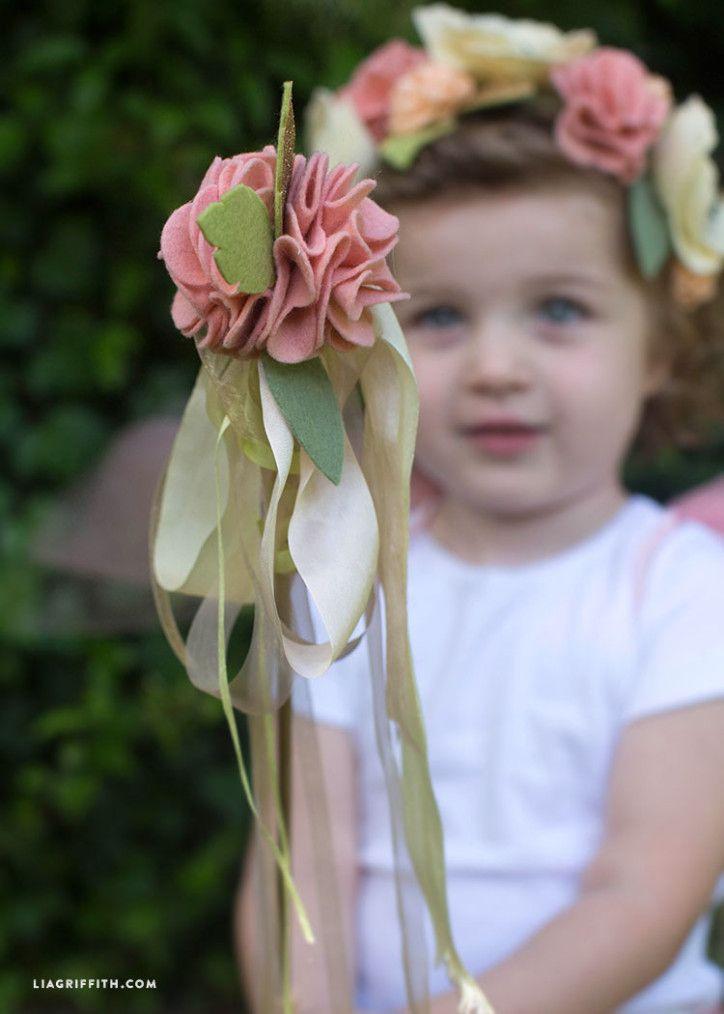 DIY Fairy Wand - Lia Griffith