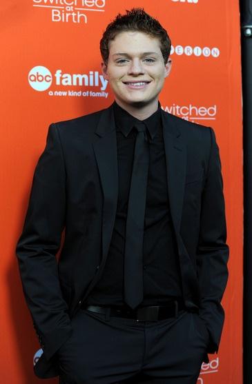 Sean Berdy (Emmett) looks so cute all dressed up!