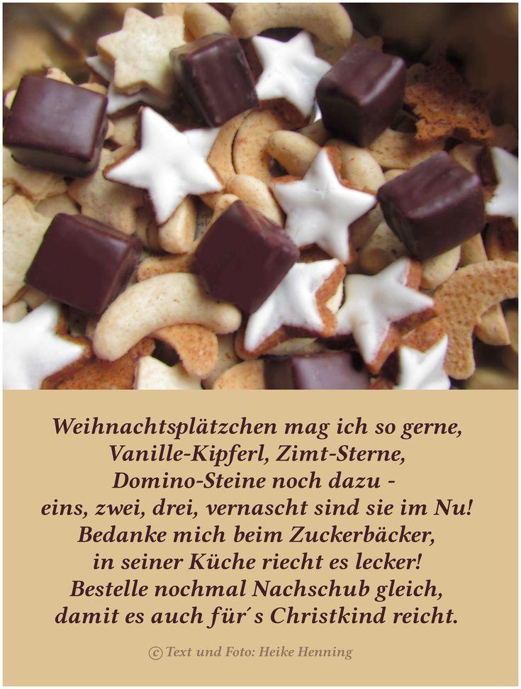 Fotogedicht von Hobbyautorin Heike Henning über die beliebten und - würmer in der küche