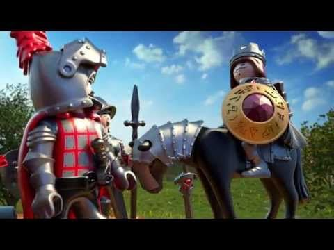 PLAYMOBIL Knights - de film (Nederlands) - YouTube