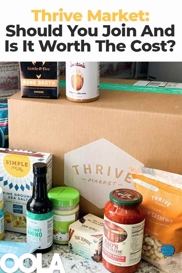 Thrive Market Review Should You Join And Is It Worth The Membership Cost Thrive Market Thrive Market Review Thrive