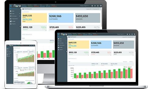 Get financial statements software that does more than meet reporting requirements. Flare financial reports are interactive and allow year-to-year comparison