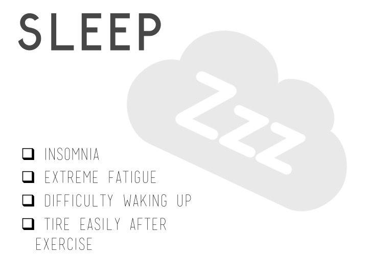 Lyme Disease - Symptoms affecting sleep   www.lymeandthecity.org