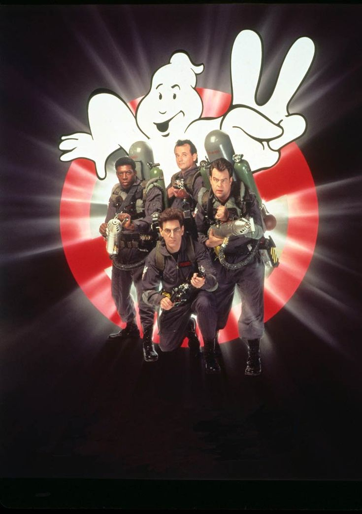 Textless Movie Posters – An awesome collection of movie posters without the texts (Ghostbusters II)