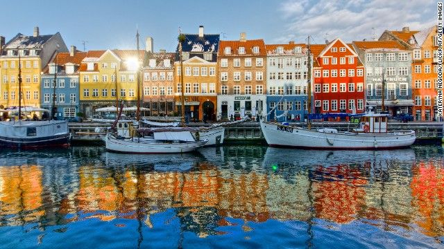 With scenery like this (the canal-side Copenhagen district of Nyhavn), one of the greenest capital cities, a history of inventing things lik...