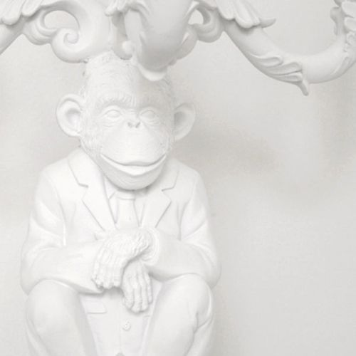 Wise Chimpanzee Candelabra Object of Desire The Shop