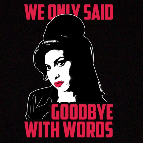 Amy Winehouse Back To Black T-Shirt Design. Available in Mens, Womens and Kids sizes.