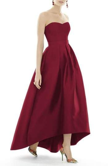 Red dress great for any formal event one has coming up. #shopstyle #formal #fancydress