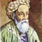 Autoportret I  Un om prin lume trece. El nu e musulman.  Nici infidel nu este. Nu crede-n legi şi zei.  Nu neagă, nu afirmă. Dar vezi în ochii săi Că nimenea nu este mai trist şi mai uman.  AutorOmar Khayyam