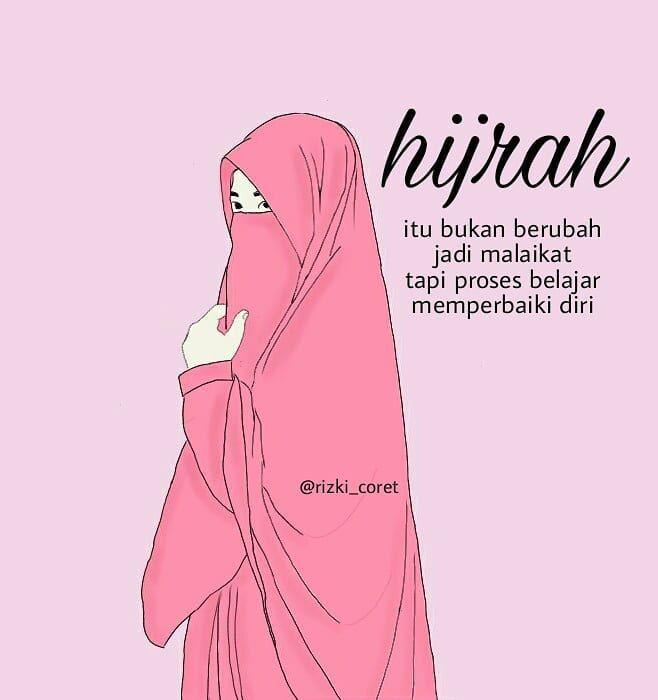 Hijab Syar I Kartun