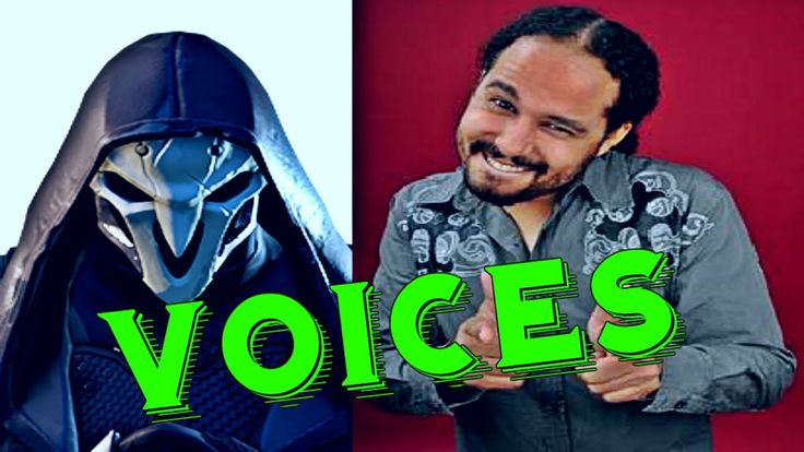 Reaper: All Voice Lines Overwatch - Voice Actors Overwatch Characters - ...
