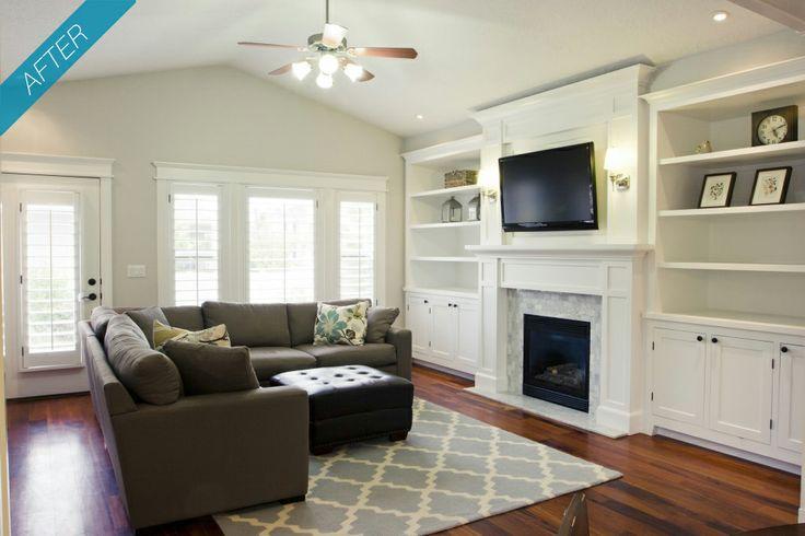 Living room built ins - Living room built ins ...