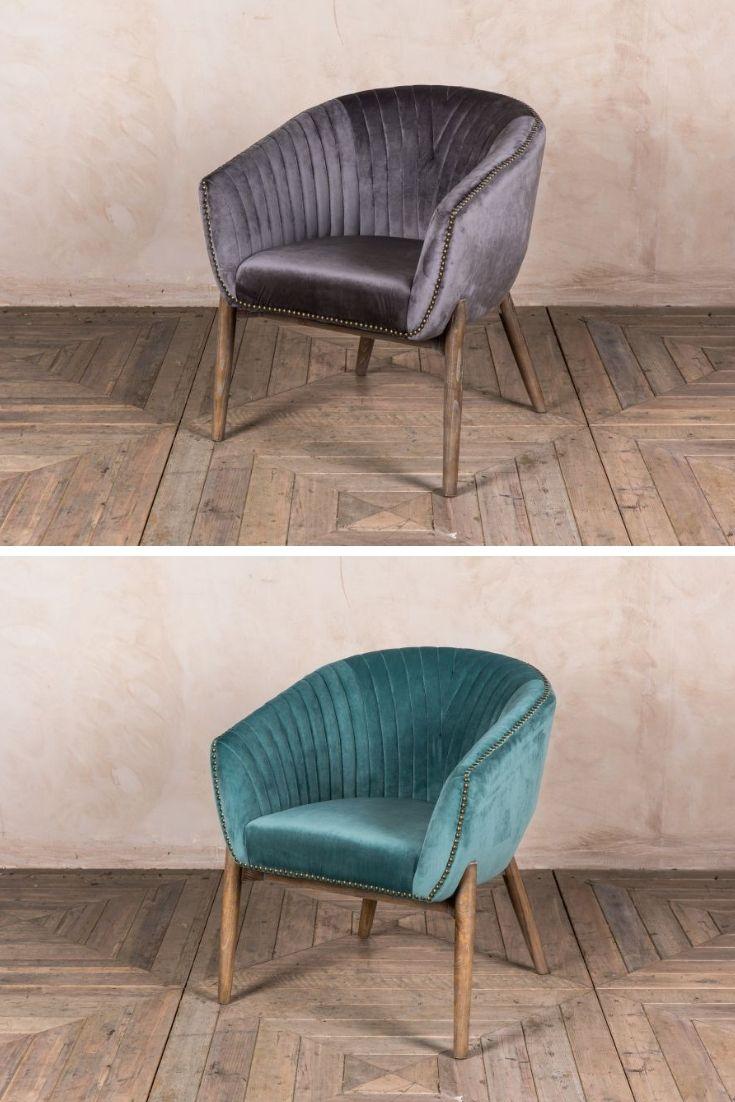 Granville velvet tub chair range quirky modern furniture pinterest modern furniture tub chair and chair
