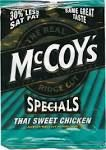 mccoys thai sweet chilli crisps x