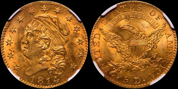 Rare US Golden Eagle Coin
