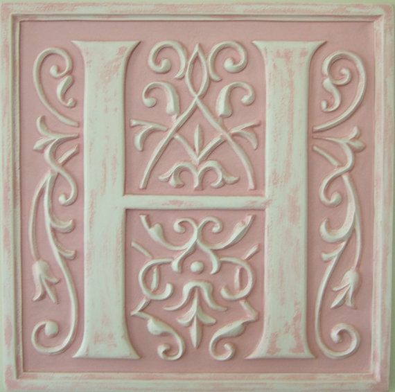 16 best pineapple wall plaque images on pinterest for Letter plaques