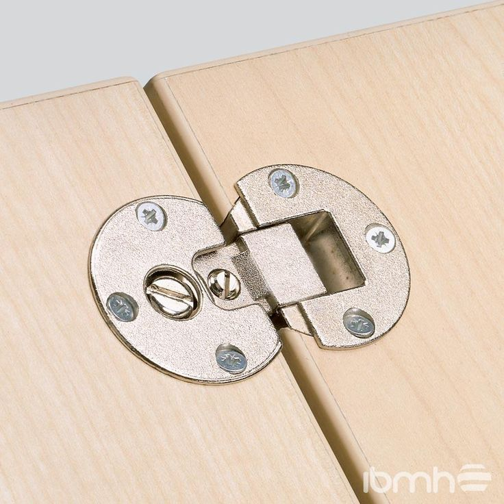 Bisagras Ocultas para Puertas y Mesas Plegables