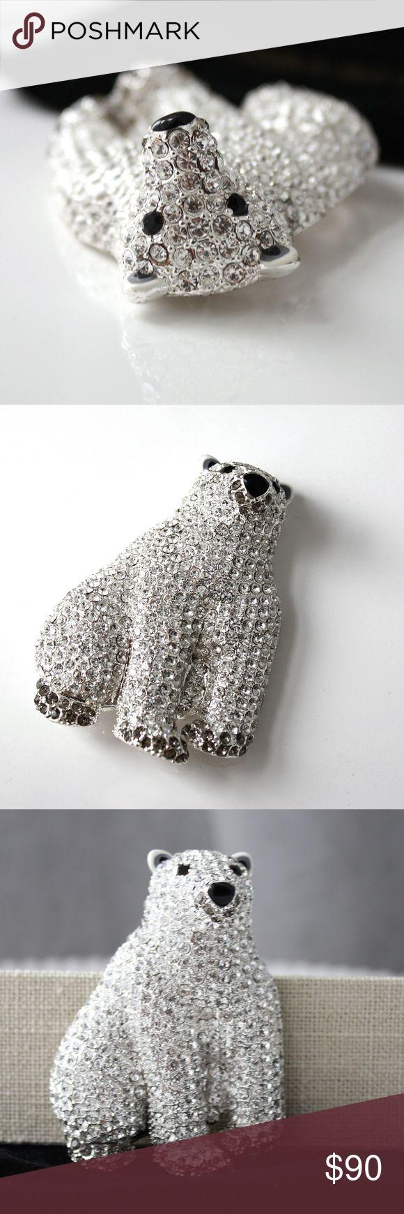 I just added this listing on Poshmark: Joan Rivers Shimmering Pave' Polar Bear Pin. #shopmycloset #poshmark #fashion #shopping #style #forsale #JOAN RIVERS #Jewelry