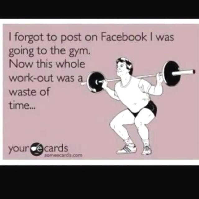 So true........one of my biggest pet peeves about FB