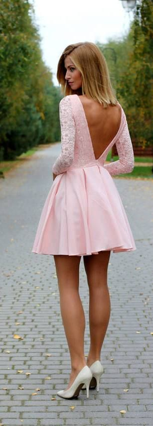 25  best ideas about Pink dresses on Pinterest   Short dresses ...