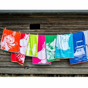 Finlayson Moomin Towels - Click to enlarge
