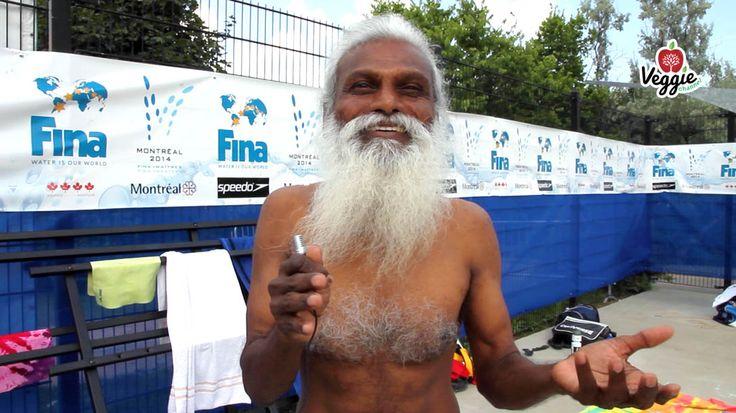 """""""Rajendra Kumar Kanphade - Yoga, vegetarismo e sport"""". Quasi tutti i problemi sarebbero risolti se diventassimo vegetariani, ci racconta in questo NUOVO VIDEO di Veggie Channel il tuffatore indiano Rajendra Kumar Kanphade: http://veggiechannel.com/video/veggie-people-gente-vegana/rajendra-kumar-kanphade-tuffatore-vegano"""