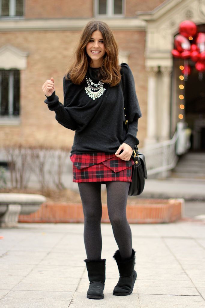 Ugg Negras Outfit