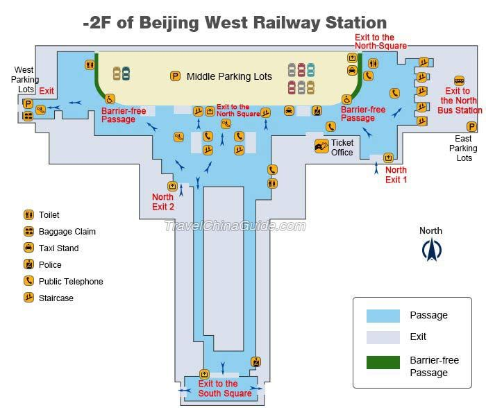 2f Beijing West Railway Station Map China Beijing Subway Map Station Map Beijing Subway