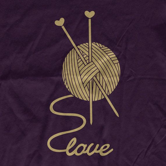 Yarn-Love Soft Organic Cotton Women t-shirt by TeeOnTheRooftop | 28$