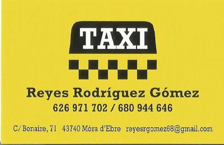 #recomanat Taxi Reyes Rodríguez Gómez http://www.moradebre.info/taxis/taxi-reyes-rodriguez-gomez/