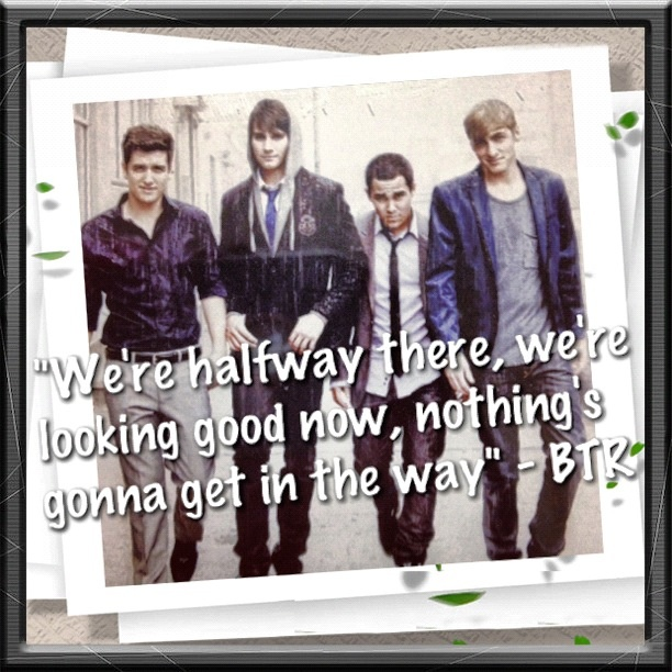 Big Time Rush – Halfway There Lyrics | Genius Lyrics