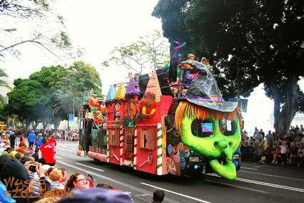 Karnawał na Teneryfie w Santa Cruz de Tenerife #karnawał