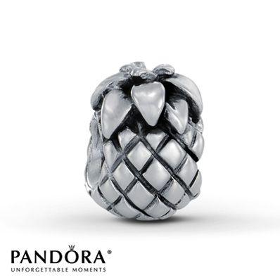 Pandora Charm Pineapple Sterling Silver