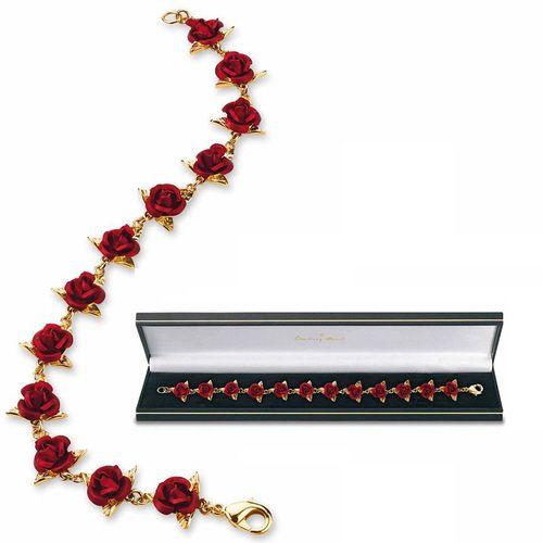 A Dozen Roses bracelet from the Danbury Mint