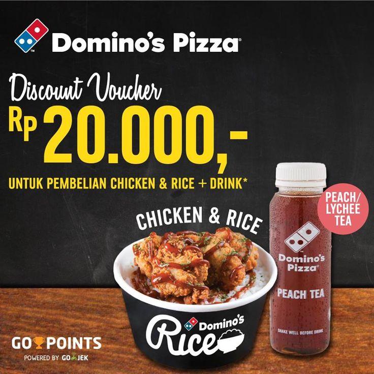 Dominos Pizza Go Food Big Deal http://www.perutgendut.com/read/dominos-pizza-go-food-big-deal/5578 #PerutGendut #Food #Kuliner #News #Indonesia #WisataKuliner #Promo