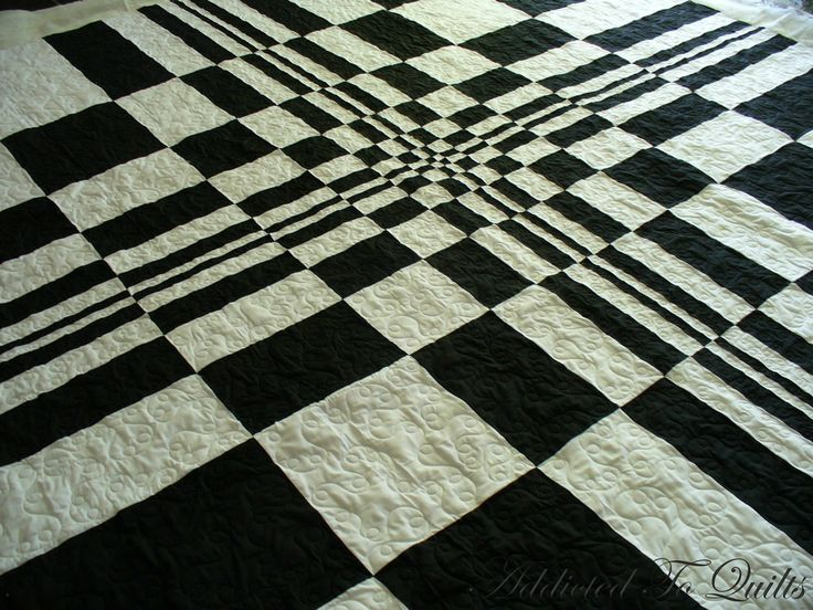 black & white quilts | Addicted To Quilts: Black and White Quilt