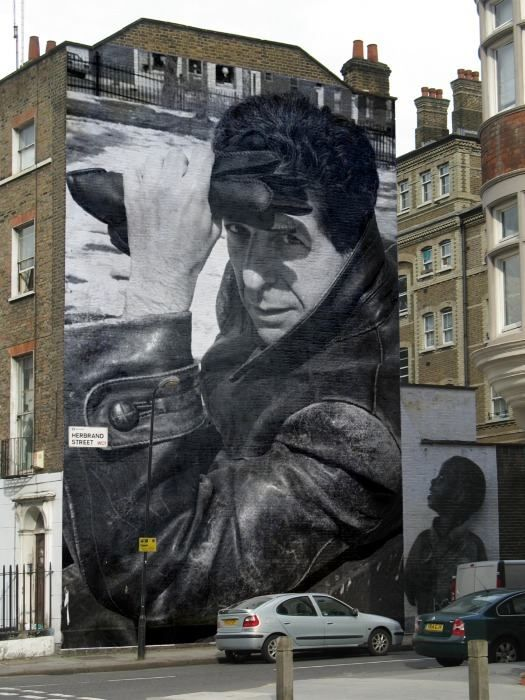 17 best images about my love for Mural leonard cohen