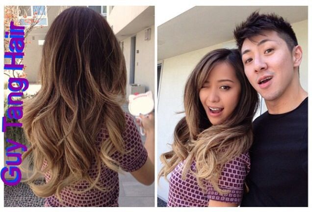 8316b8d9f6d Guy tang balayage ombre my two fave people Guy Tang Hair and Michelle Phan  Make up