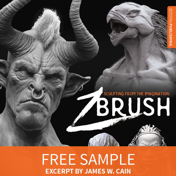 Sculpting From the Imagination book now available from 3DTotal