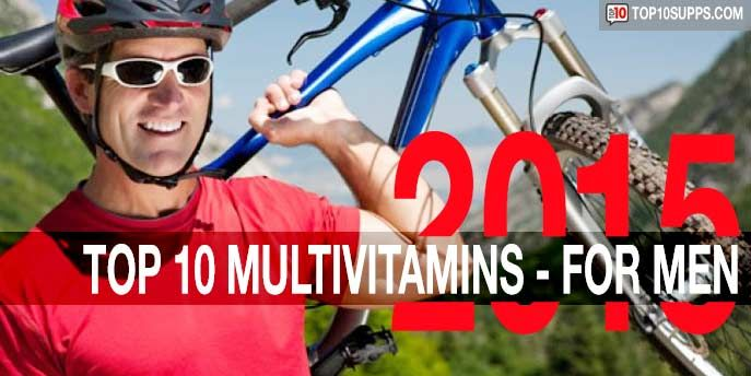 Top 10 Multivitamins for Men in 2015