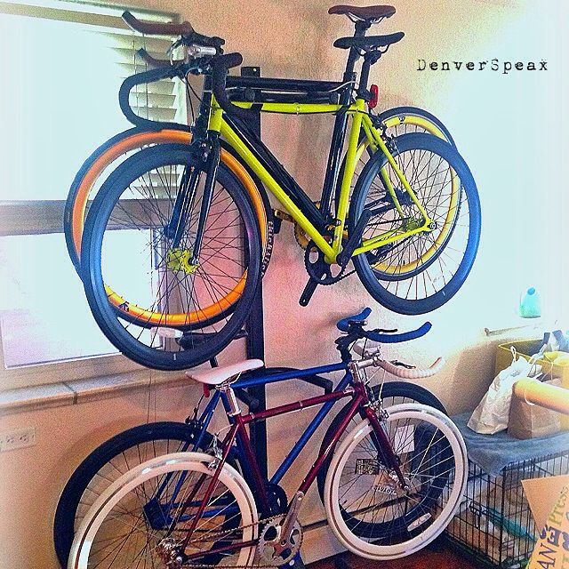 How To... Store Bike Efficiently. Have little-to-no room in your apartment? Check out these ideas to store your bike efficiently.