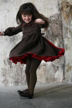 Twirling Little Dancer w/ Red Pettycoats, http://www.lesculottescourtes.com/p31